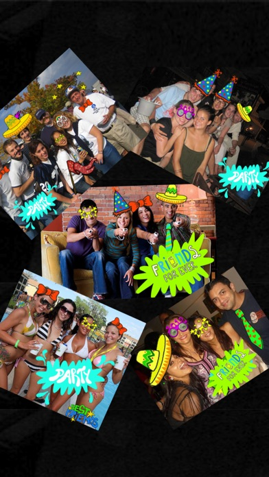 Party Booth - Live Camera Stickers and Fun Photo EditorScreenshot of 1