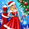 Christmas Salon Dress Designer: Fashion Girl Games