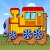Kids Train Transportation Puzzle Games for Toddler