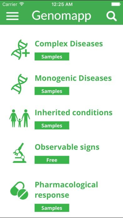 Genomapp, Squeeze your DNAScreenshot of 1