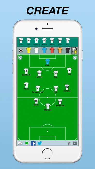 Team Lineup: Soccer, Rugby, Baseball, Hockey on the App Store
