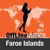 Färöer Offline Karte und Reiseführer