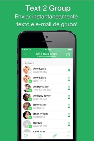 Text 2 Group Pro screenshot 1