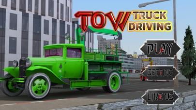 レッカー車の駐車場 - 都市車のけん引シミュレーターのゲームのスクリーンショット1