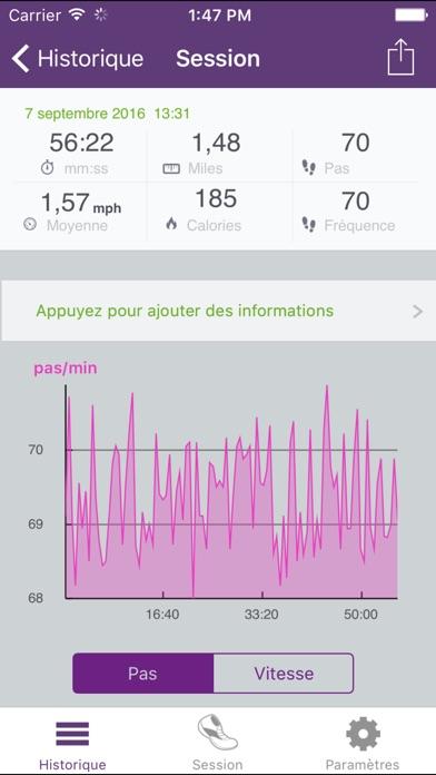 Capture d'écran iPhone 2