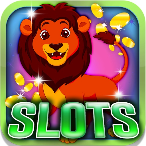 Animal King Slots: Play against the lion dealer iOS App