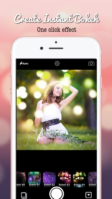 Screenshot #6 for Blur Bokeh - Light Photo Effect Background