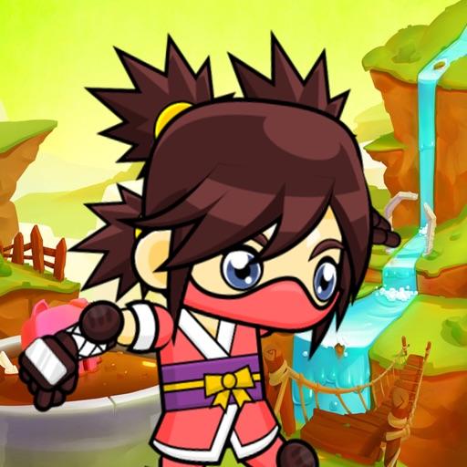 超级忍者女孩 - 女生游戏 iOS App