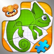 123 Kids Fun PAPER PUZZLES Early Learning Games