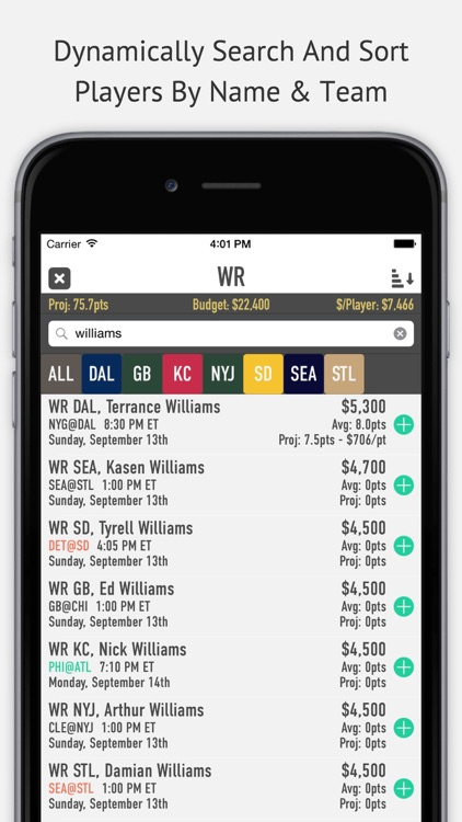 Daily Oracle - Fantasy Football Lineup Generator by Austin Patten