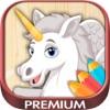 Disegni da colorare Unicorn - Premium