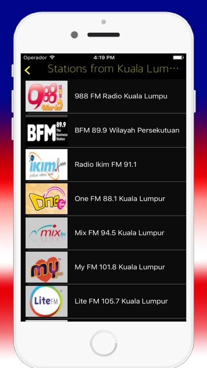 Radio Malaysia Fm My Live Radios Stations Online By Alexander Donayre