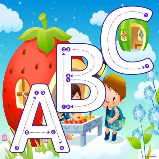 Alphabet Learning for Kids ABC Tracing Letter iOS App
