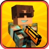 Pixel 3D Mafia Criminal Shooter Pro - 3D Blocky Gun Survival Game