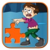 Crazy Tiny Zombie Jigsaw Puzzle Game For Kids