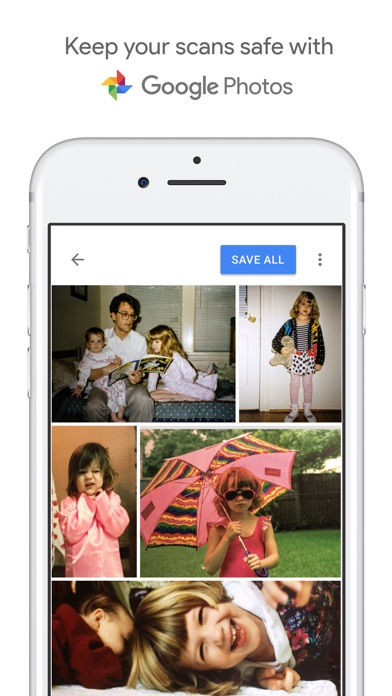 PhotoScan – Scanner by Google Photos Screenshot