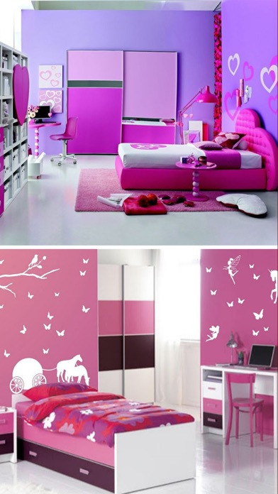 iPhone Screenshot 3. Teen Room Decor Ideas  Teenager Room Designs Plans on the App Store