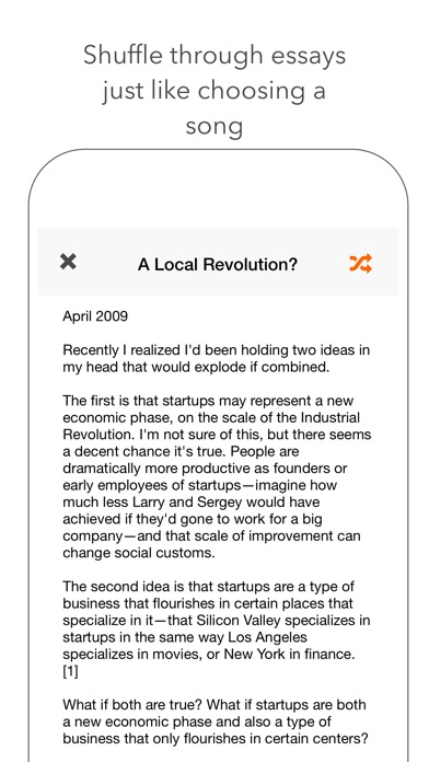 jumble a startup essay in a tap on the app store iphone screenshot 2