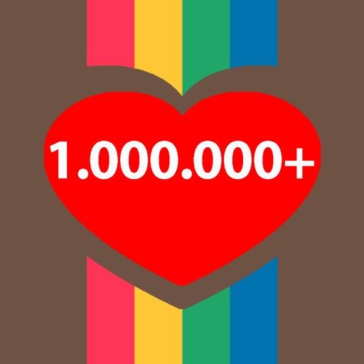 Instalike One Million Times - Get Free Like and Follower Plus Wowlikes, Like4like & Likeboost for Instagram App iOS App