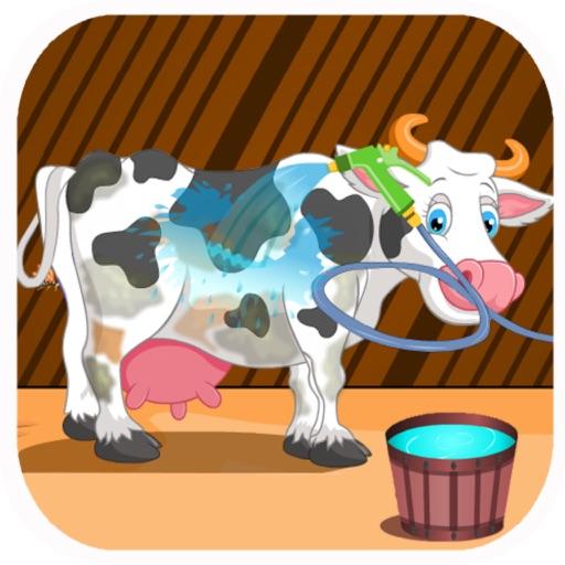 Holstein Cow Care - Pets Salon Game iOS App