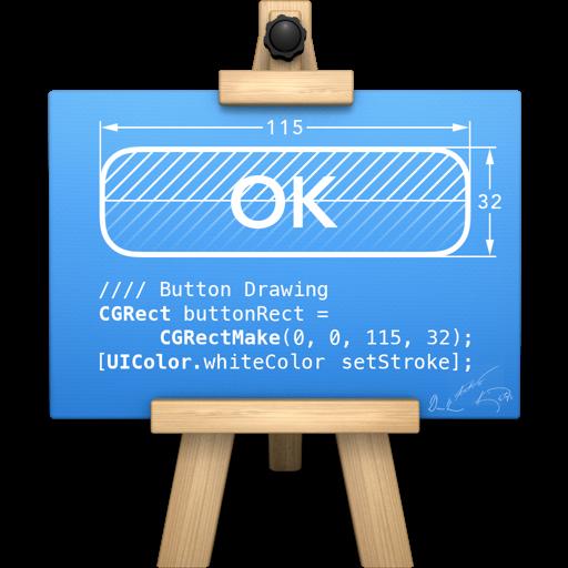 简单的矢量图形绘制工具 PaintCode 2 for Mac