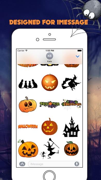 Halloween Best StickersСкриншоты 4