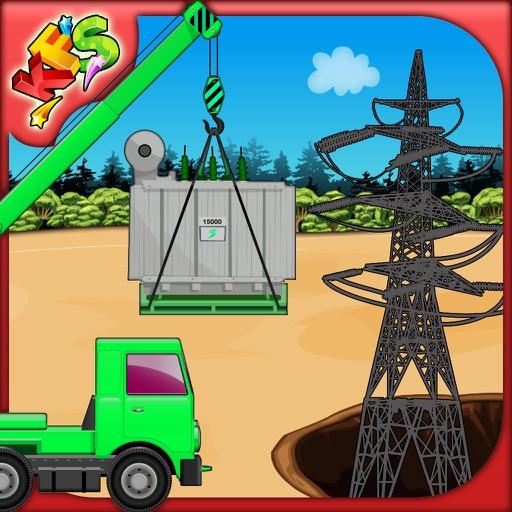 Build a Grid Station- Crazy construction game fun iOS App