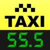 Taxímetro. GPS taximeter. Distancia y tiempo.