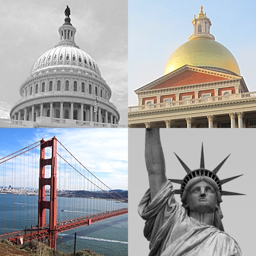 US Cities and State Capitol Buildings Quiz iOS App