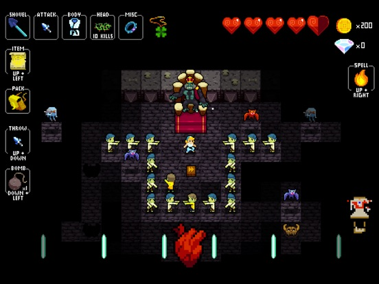 Crypt of the NecroDancer Screenshots