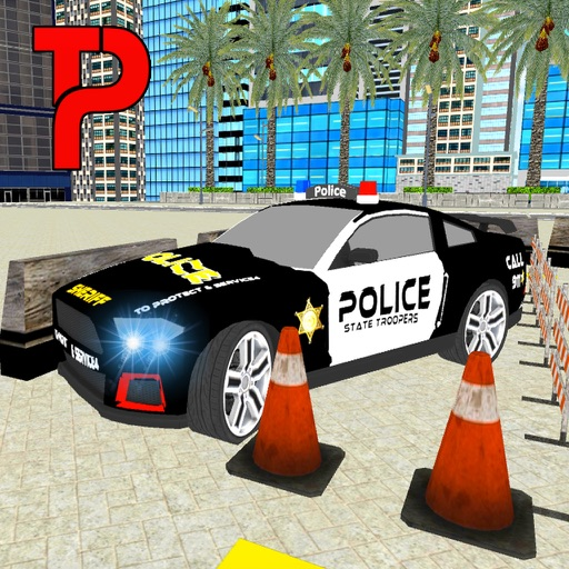 Super Police Car Parking 3D iOS App