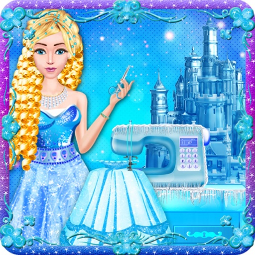 Snow Princess  Designs Tailor Boutique Girls Games iOS App