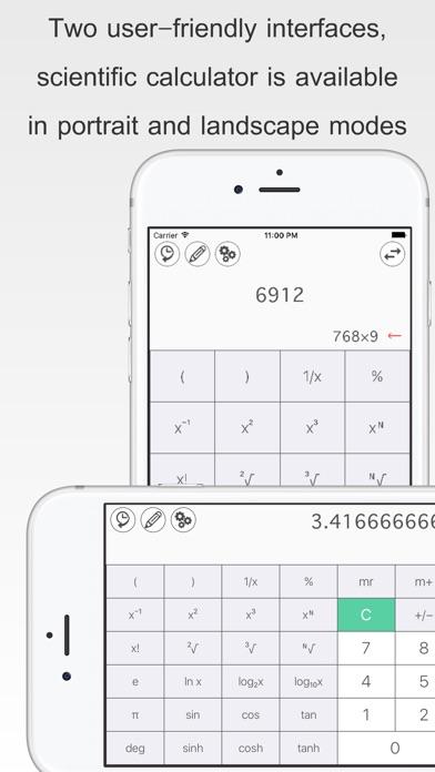 бесплатный Калькулятор S Скриншоты4