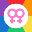 Just She - Lesbian & Bisexual Chat for LGBT Dating icon