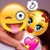 Emoji & Text on Your Photo - Funny Booth & Editor