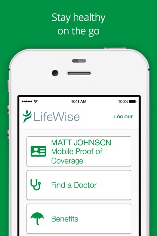 LifeWise Mobile screenshot 1