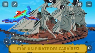 Pirate des Caraïbes Craft: Exploration île trésorCapture d'écran de 2