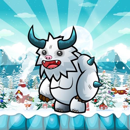 Ice Man - Xmas Run iOS App