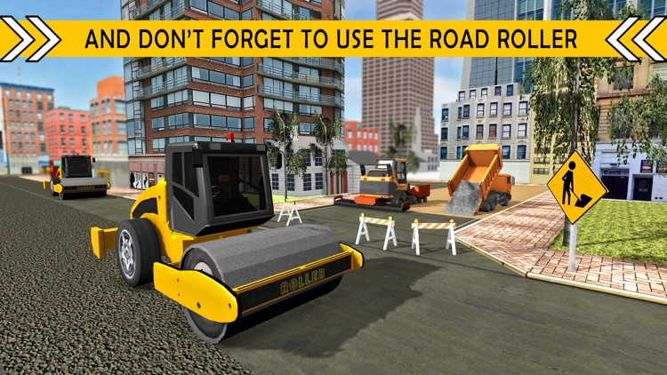 road builder city construction heavy excavator 3d by ali irshad
