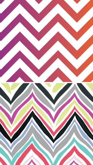 Girly chevron wallpapers colorful backgrounds by space o for Chevron wallpaper home uk
