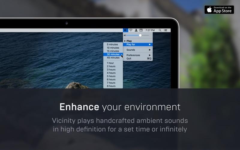 Vicinity for Mac 1.1.0 破解版 - 环境噪音模拟