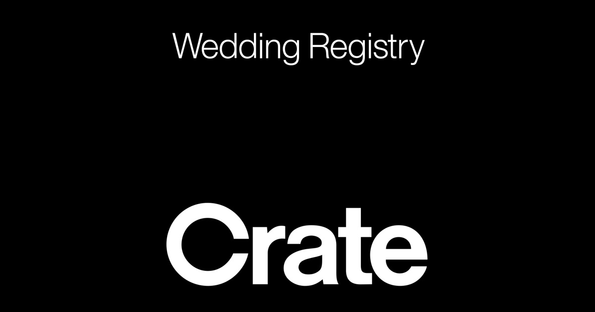 Wedding & Gift Registry by Crate & Barrel on the App Store