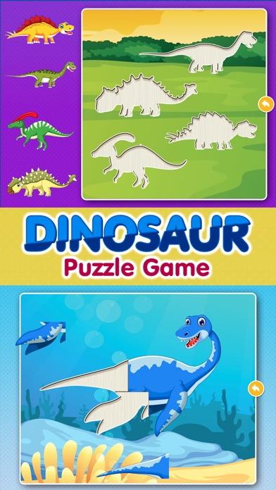 Dinosaur Games: Puzzle for Kids & Toddlers Screenshot
