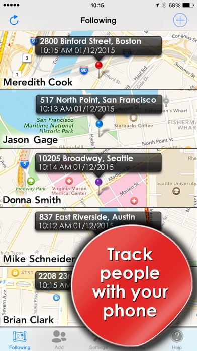 download Phone Tracker for iPhones (Track people with GPS) apps 3