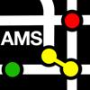 Mapa del Metro de Amsterdam