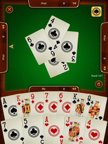Batak - карточная игра на iPad