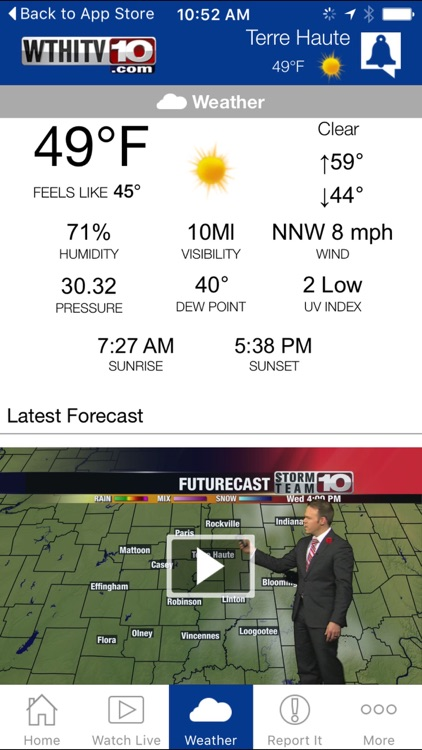 Wthi News 10 Terre Haute News And Weather By Lin Television