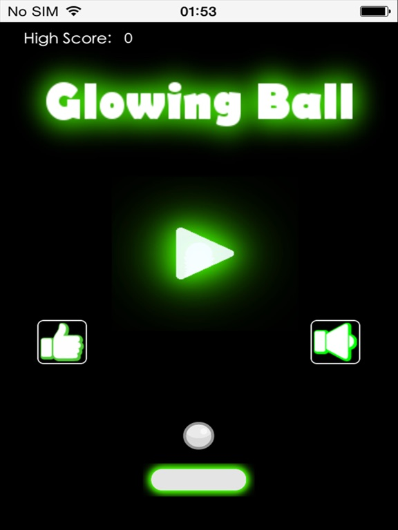 Glowing Ball Screenshots