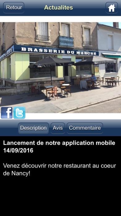 La Brasserie du Marché NancyCapture d'écran de 2