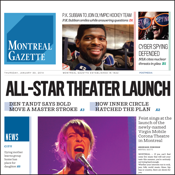Montreal Gazette Epaper app review